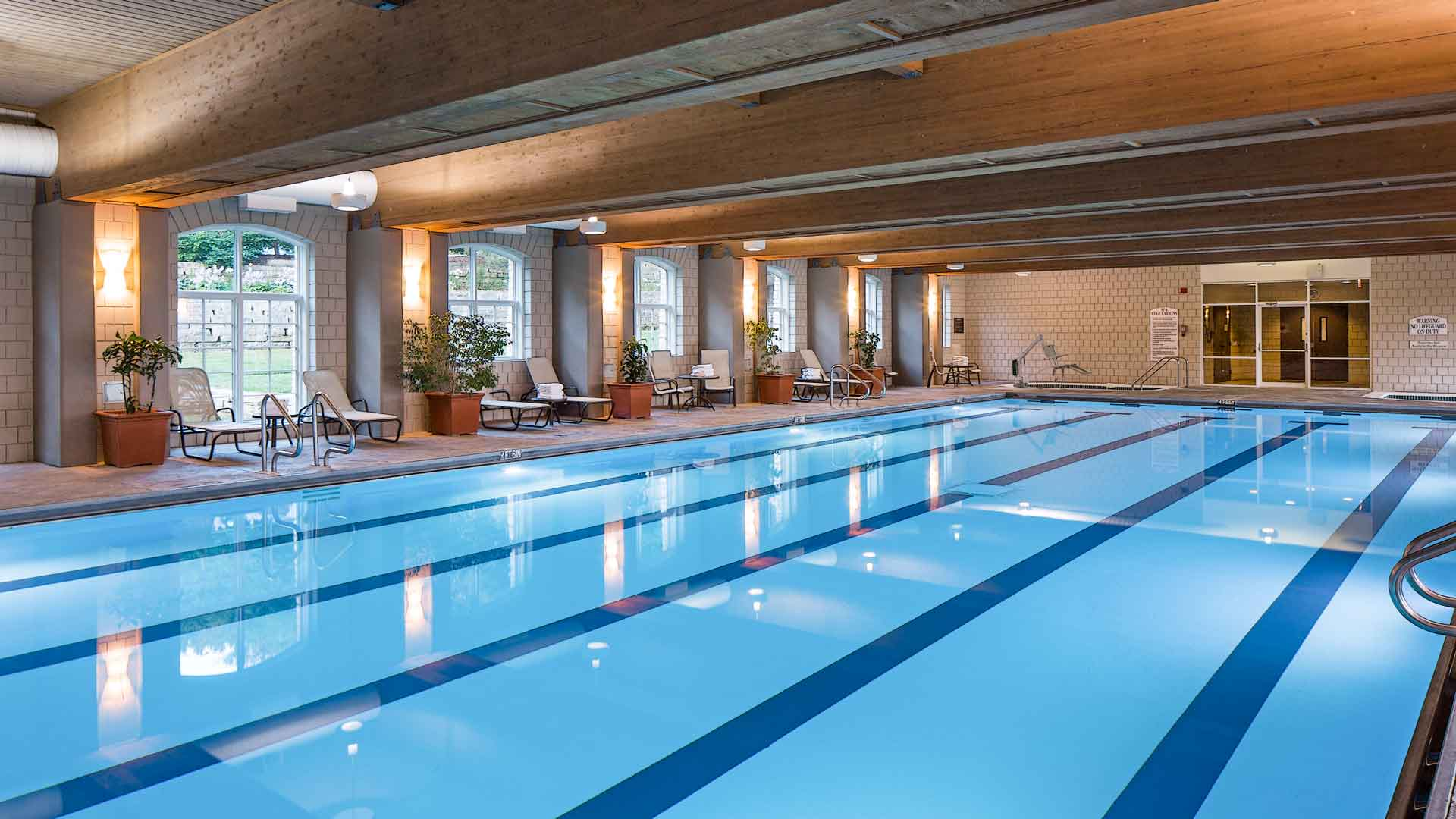 Olympic sized indoor pool lied lodge conference center for Interior swimming pool