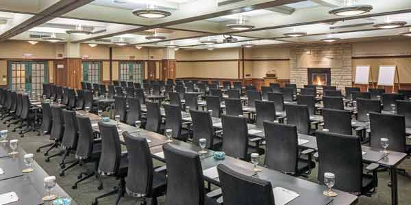 The Rosenow Room is a beautiful conference room